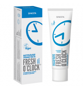 SPASTA Fresh O'clock natūrali dantų pasta FRESH BREATH, 90 ml