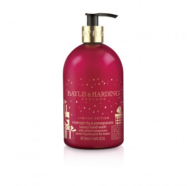 Baylis & Harding Midnight Fig & Pomegranate skystas muilas 500 ml