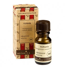 Botanika 100 % Pelargonijų eterinis aliejus 10 ml