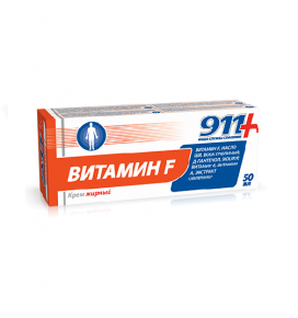 911 riebus kremas kūnui VITAMINAS F, 50 ml