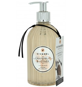 VIVANEL Skystas muilas rankoms Grapefruit & Vetiver, 350 ml