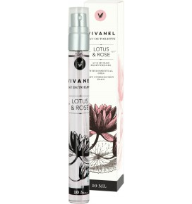 VIVANEL tualetinis vanduo Lotus & Rose, 10 ml