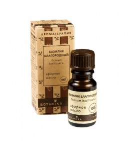 Botanika bazilikų eterinis aliejus, 10 ml