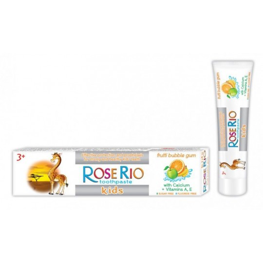 ROSE RIO vaik.d/p efekt.apsaug.Frutti bubble gum 3+ 50ml
