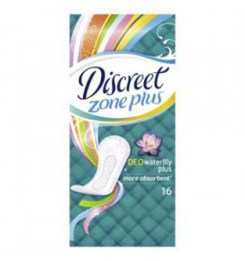 DISCREET hig.įkl.Deo Water Lily, 16 vnt