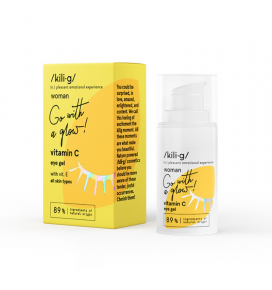 KILIG WOMAN paakių gelis su vitaminu C, 15 ml